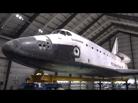 Space Shuttle Endeavour at California Science Center Los Angeles