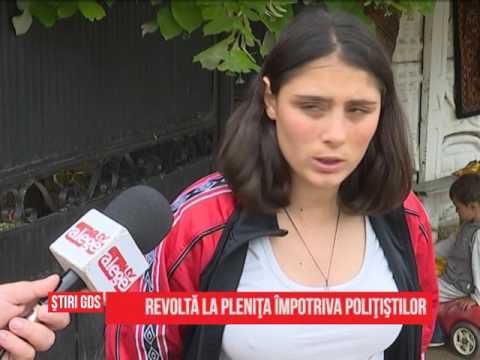 Revoltă la Plenița împotriva polițiștilor
