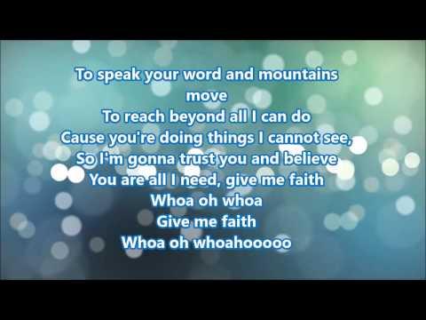 Royal Tailor   Give Me Faith lyrics