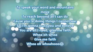 Royal Tailor   Give Me Faith lyrics
