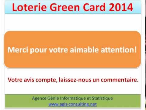 Lotterie Green Card - visa usa - us visa uscis -  green card