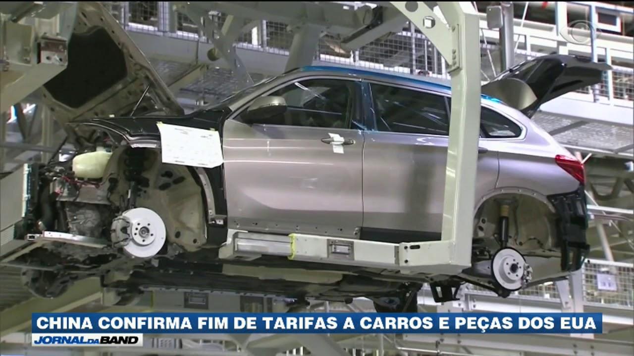 China suspende tarifas de carros importados dos EUA