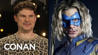 "Flula Borg Knows Very Little About His Role In ""The Suicide Squad"" - CONAN on TBS"