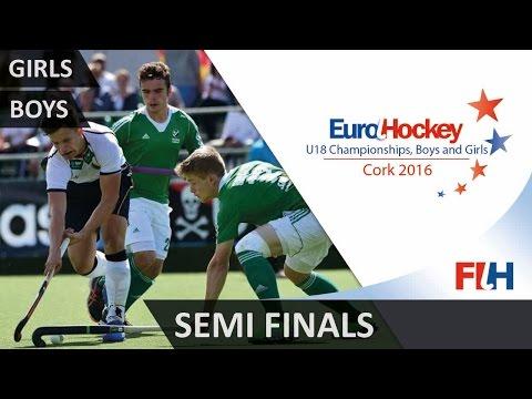EuroHockey Youth Championships 2016 - Semi Finals - Cork, Ireland