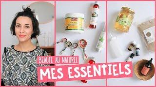 Beauté au naturel: les essentiels (ingrédients, accessoires, livres...) | Coline