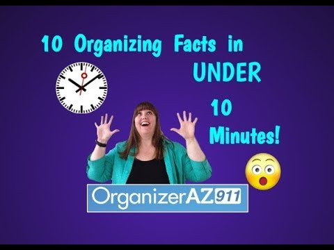 10 Organizing Facts That Might Just Shock You  (Organizer AZ 911)