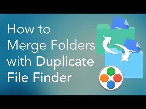 Merge Folders on Mac with Duplicate File Finder