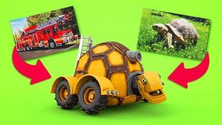 АнимаКары Изучение типов машин для детей Обучающие мультики для детей с машинами и зверями