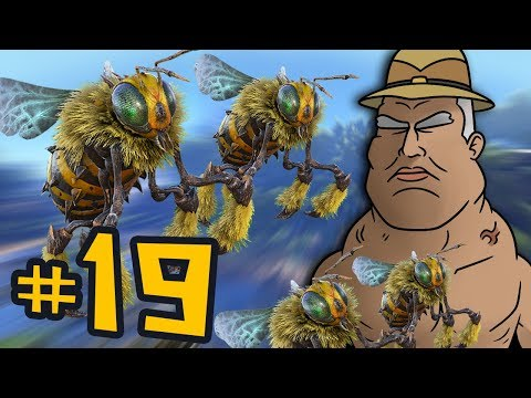 ARK: Survival Evolved #19 - NOT THE BEES