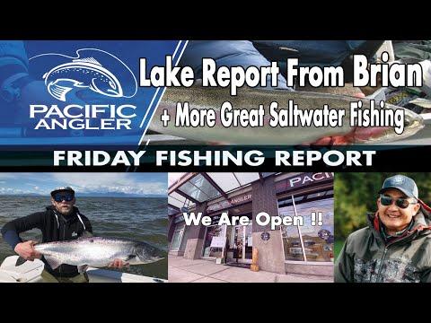 Pacific Angler Vancouver Fishing Report - May 22nd, 2020 // Interior Lake Fishing Report
