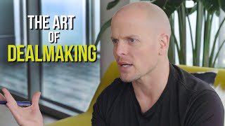 "How to Negotiate (or, ""The Art of Dealmaking"") 