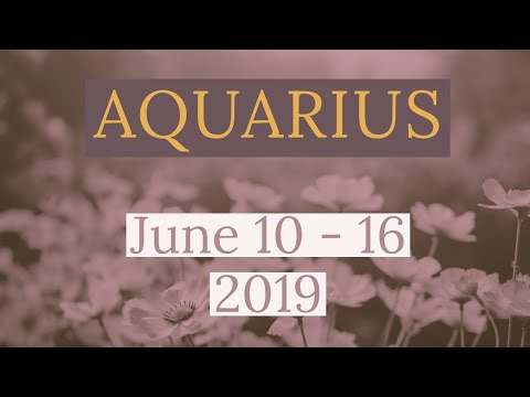 aquarius december 10 2019 weekly horoscope by marie moore