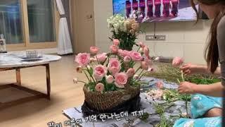 [취미생활]꽃바구니 만…