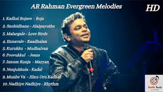 AR Rahman Evergreen Melody Songs | ARR | Jukebox | HD | Tamil Melodies