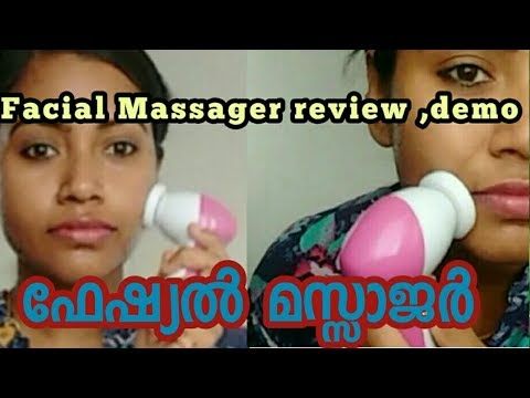 ഫേഷ്യൽ മസ്സാജർ ||Facial Massager ||Nikki's Tips And Talks