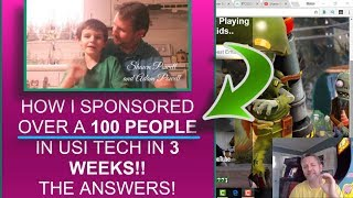 USI TECH EXPLAINED - HOW I SPONSORED OVER A 100 USI TECH MEMBERS IN 3 WEEKS! USI TECH STRATEGIES