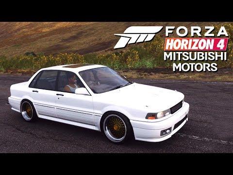 MİTSUBİSHİ ARABALARI GELDİ // Forza Horizon 4 thumbnail
