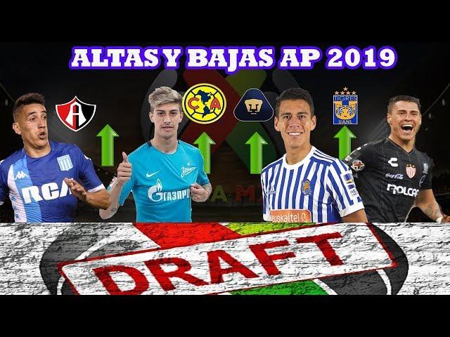 Altas, Bajas y Rumores Rumbo al Apertura 2019 || Draft Liga MX
