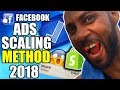 THE FACEBOOK ADS SCALING METHOD FOR 2018