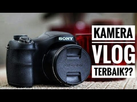 unboxing kamera vlog terbaik 20 jutaan sony dsc h200. Black Bedroom Furniture Sets. Home Design Ideas