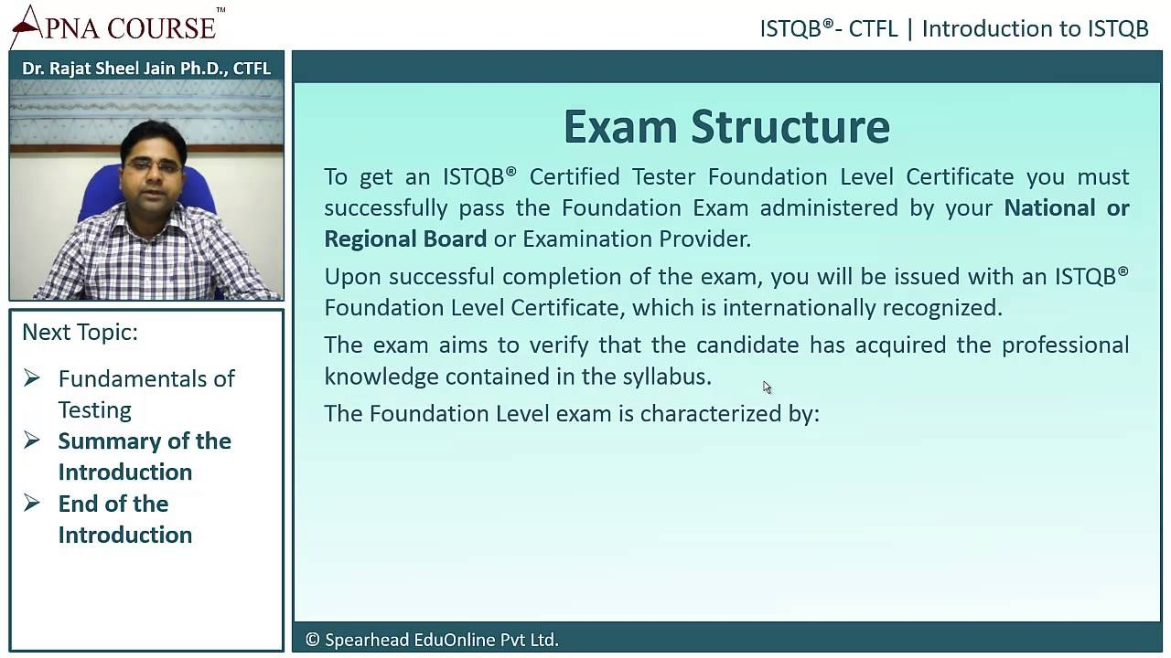 Istqb certified tester foundation level exam structure youtube istqb certified tester foundation level exam structure xflitez Images