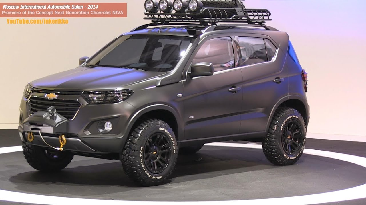 Full Review Of The Concept Chevrolet Niva Next Generation Author S English Version