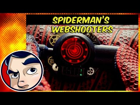 Spider-Man's Types of Webshooters and Fluids