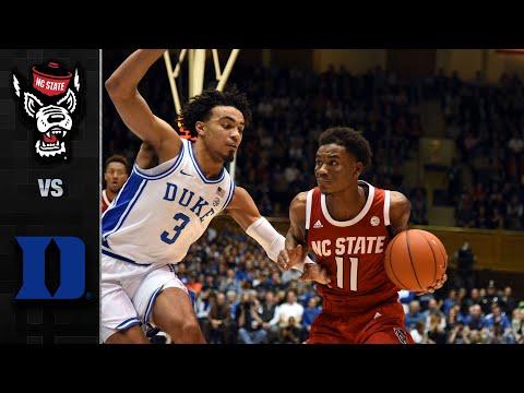 NC State Vs. Duke Men's Basketball Highlights (2019-20)