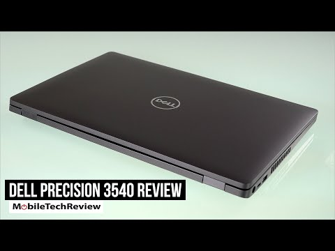 Dell Precision 3540 Review