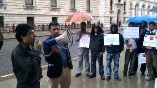 Rohingya demonstration in London  by Bolu Finland