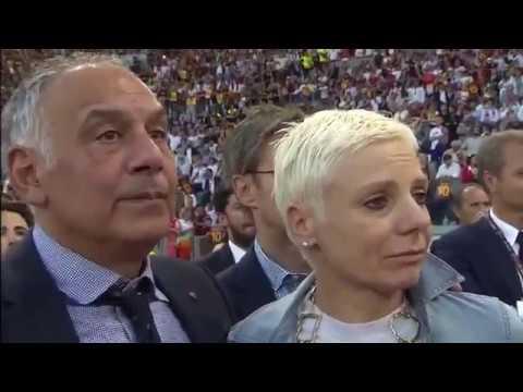 ADDIO DI FRANCESCO TOTTI ALLA ROMA