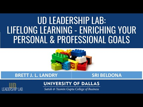 UD Leadership Lab   Lifelong Learning - Enriching Your Personal & Professional Goals