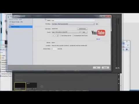 How To Live Stream Pre-recorded Video in HD for Free