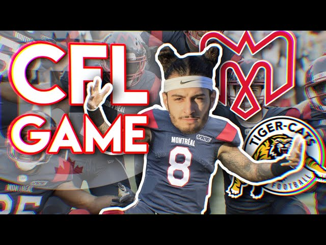 LE FOOTBALL PROFESSIONNEL AU CANADA - CFL 🏈🇨🇦(ALOUETTES VS TIGER-CATS)