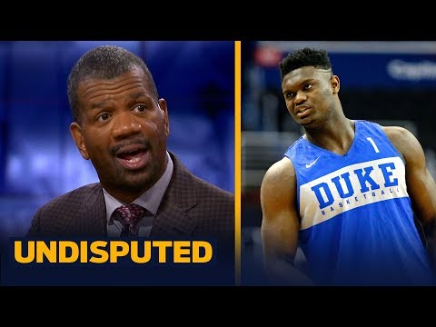 Rob Parker thinks everyone needs to 'pump the brakes' on Zion Williamson hype   NBA   UNDISPUTED