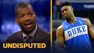 Rob Parker thinks everyone needs to 'pump the brakes' on Zion Williamson hype | NBA | UNDISPUTED