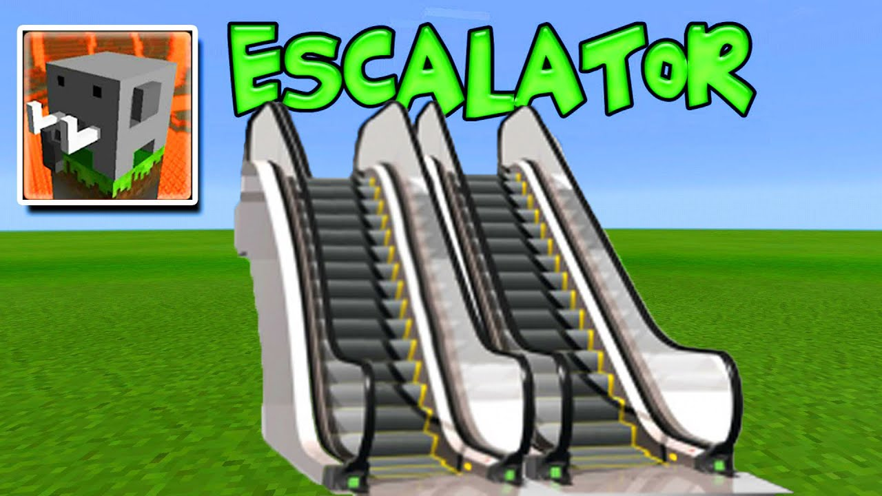 HOW TO MAKE AN ESCALATOR in Craftsman: Building Craft (Part 2)