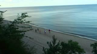 Klif Orłowski, plaża Gdynia Orłowo