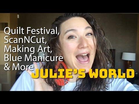 Julie's World Vlog: October 31 - November 6, 2016