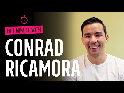 Hot Minute with: Conrad Ricamora