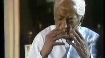 J. Krishnamurti - Brockwood Park 1976 - Discussion 5 - Your image of yourself prevents relationship
