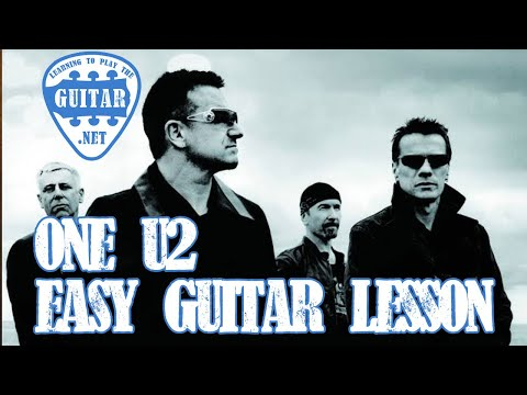 One By U2 (Easy Strumming Version) Guitar Lesson