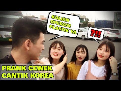 NGEPRANK CEWEK CANTIK DI KOREA WKWKWKW - PRANK INDONESIA-KOREA