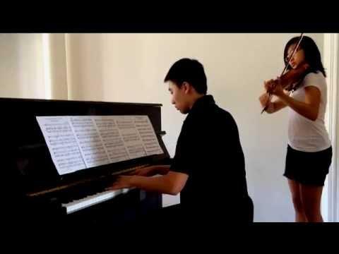 Song From A Secret Garden Piano & Violin