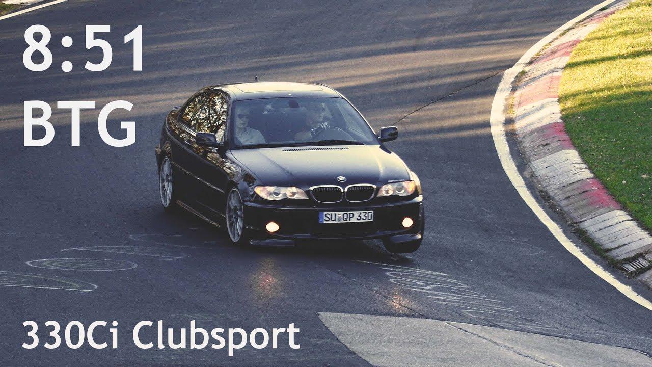 E46 Hotlap 851 Btg Bmw E46 330ci Clubsport Nordschleife
