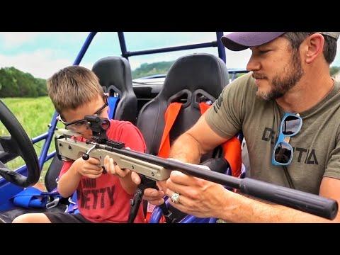 Подарил оружие сыну в пять лет | Разрушительное ранчо | Перевод Zёбры