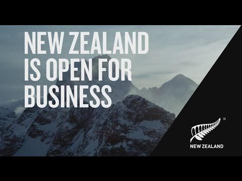 New Zealand - Open for business