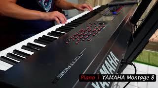 Piano sounds Part 2 / KORG v s YAMAHA v s ROLAND v s NORD v s Kurzweil