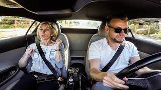 Reakcja mamy na przyśpieszenie Audi R8 4K/ Hilarious Reaction of Mom in Audi R8- Prank (2016