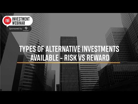 Alternative Investments - Risk vs Reward | REI Investment Webinar